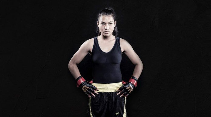 Asha Roka is one of the most exciting prospects in Indian MMA. Image Courtesy: thebridge.in