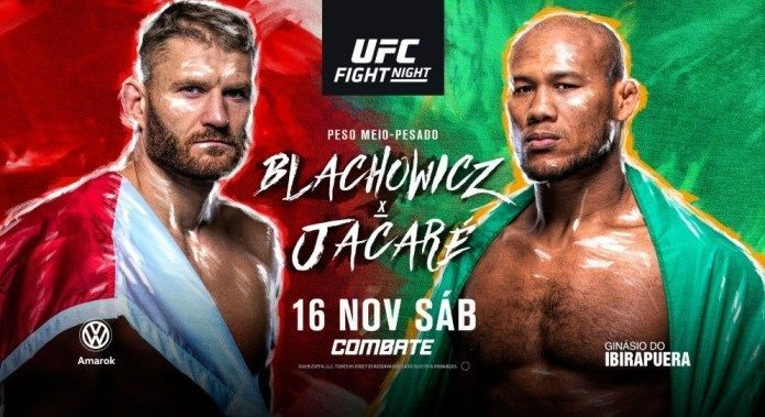 Watch UFC Fight Night Blachowicz Vs Souza 11/16/19