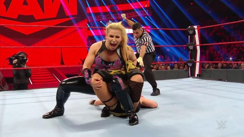 The champs took a big loss on RAW