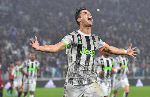 Cristiano Ronaldo is Juventus's go-to man in attack