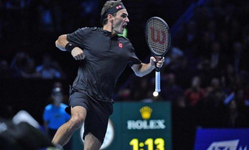 Federer's joy knows no bounds after registering his first win over Djokovic in 4 years