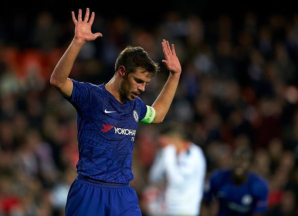 Azpilicueta played in a couple of roles but gave away some needless freekicks