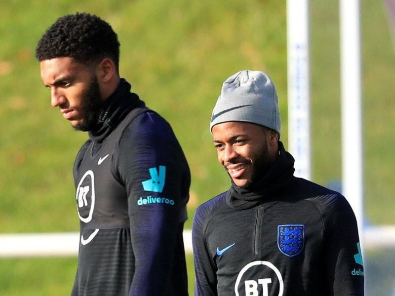 Gomez and Sterling were involved in an argument in England