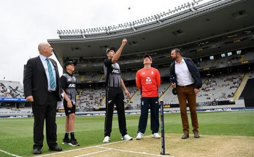 New Zealand v England - T20: Game 5