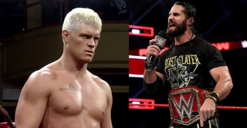 Cody Rhodes and SRollins