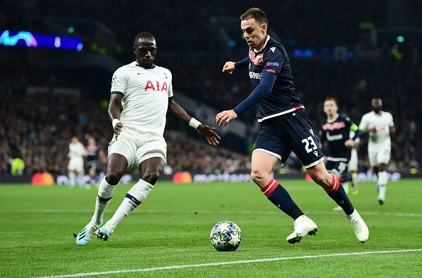 Tottenham ran out 5-0 winners in their last Champions League meeting with Crvena Zvezda