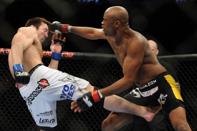 Anderson Silva's feud with Chael Sonnen was a classic.
