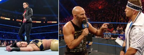 There were some shocking botches and mistakes this week Friday Night on SmackDown