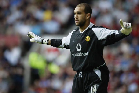 Tim Howard of Manchester United