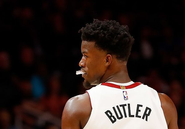 Jimmy Butler has made a bright start to his Miami career