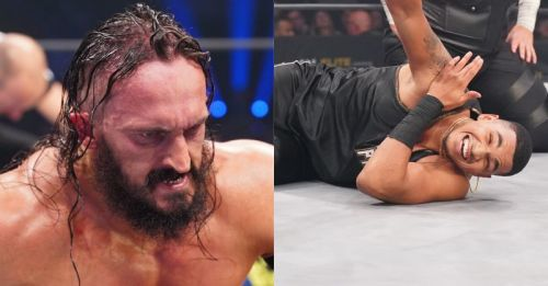 Wrestlers replaced (Photos: Lee South/AEW)