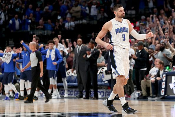 Nikola Vucevic is expected to miss at least a month with an ankle injury