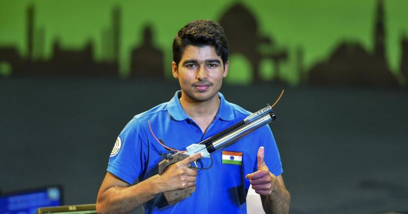 Saurabh Chaudhary is one of the shooters who will be part of the Tokyo Olympics contingent