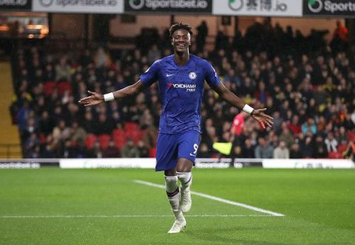Tammy Abraham produced a fine one-time finish to take his tally to nine league goals