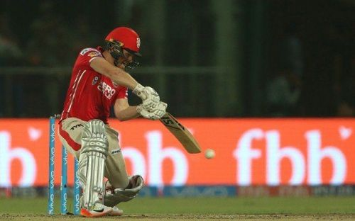 Morgan was asscoiated with Kings XI in 2017