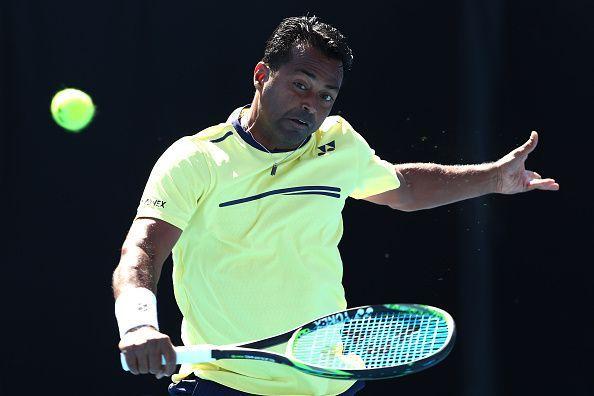 Leander Paes, member of Indian Davis Cup team.