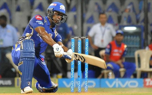 Evin Lewis was traded by Mumbai Indians ahead of the auction