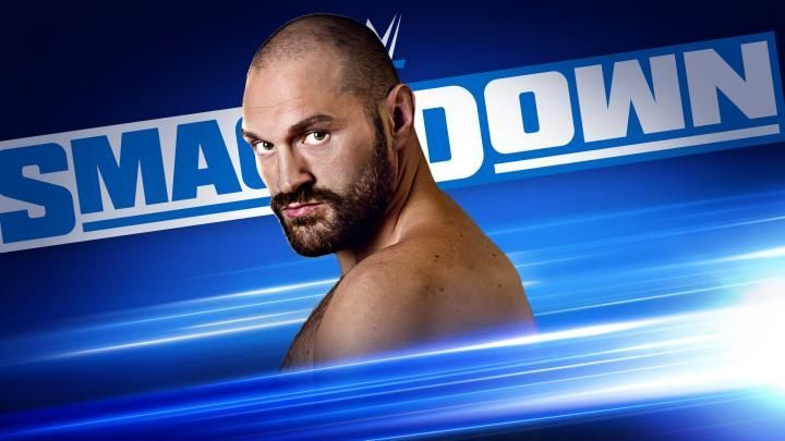 Tyson Fury will be on SmackDown