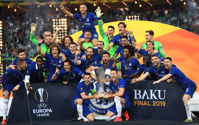 Chelsea won the UEFA Europa League last season by beating Arsenal 4-1 in the final.