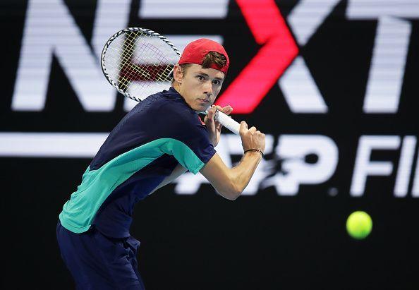Alex de Minaur Next Gen ATP Finals - Day Three