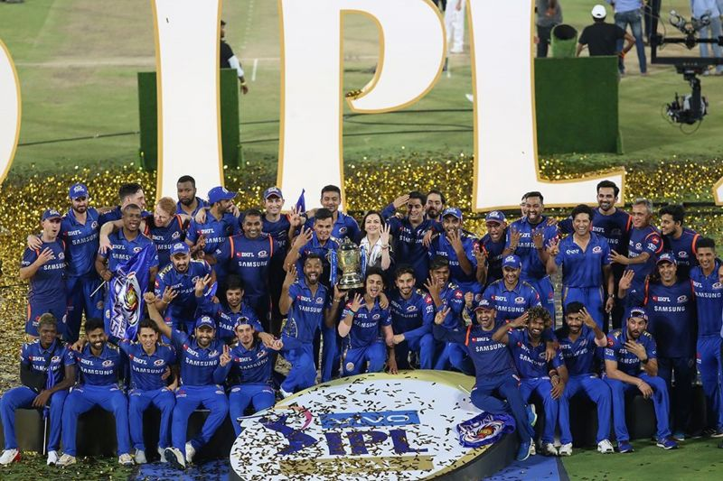 मुंबई इंडियंस खिताब जीतने के बाद (Photo: IPLT20.com)