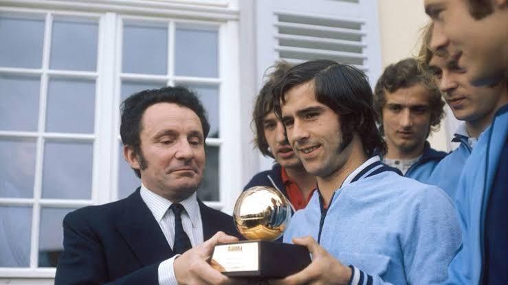 Muller won the Ballon d
