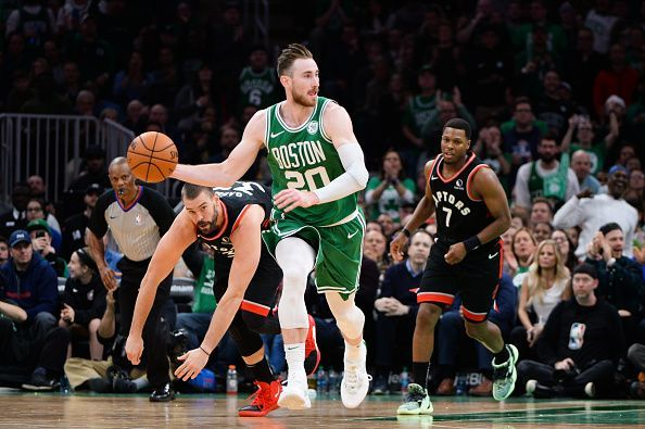 Gordon Hayward is out with a fractured hand