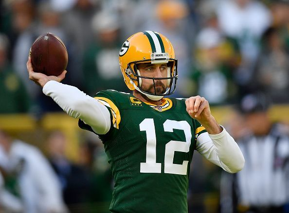 Green Bay's signal-caller is second in the NFL in passing yards and with 16 touchdowns compared to only two interceptions