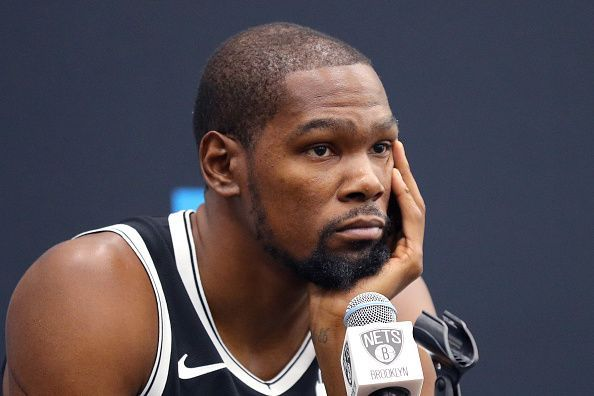 Kevin Durant is going through the recovery process and might not return
