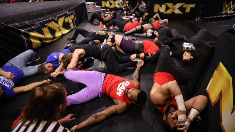 रॉ, NXT और स्मैकडाउन के WWE सुपरस्टार्स