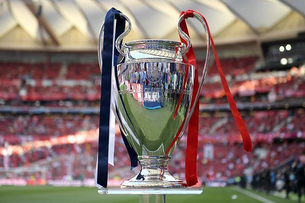 The coveted Champions League crown.