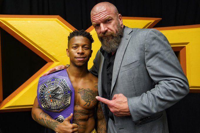 Lio Rush & Triple H