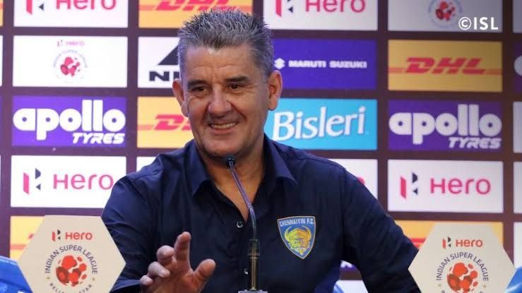 John Gregory during a press conference