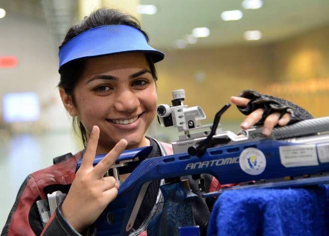 Apurvi Chandela is currently ranked World No. 1 in Women