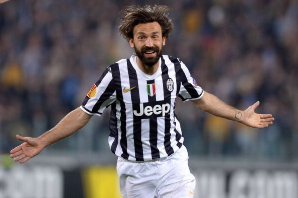 The great Andrea Pirlo pulled the strings in Juve