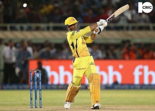 M.S Dhoni: Capt. Chennai Super Kings