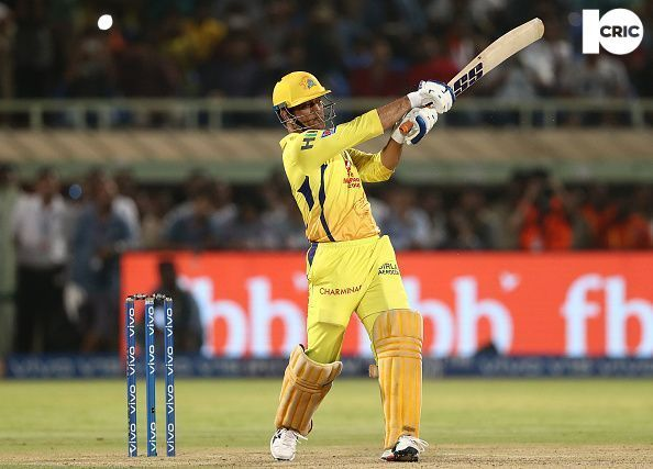 M.S Dhoni: Capt. Chennai Super Kings