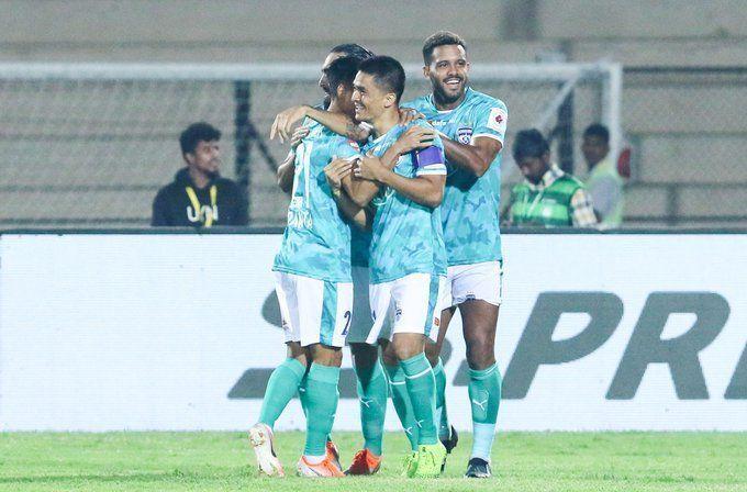 Sunil Chhetri has scored half of Bengaluru FC