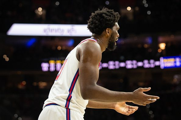 Embiid is leading the team in points, rebounds and blocks per game this season