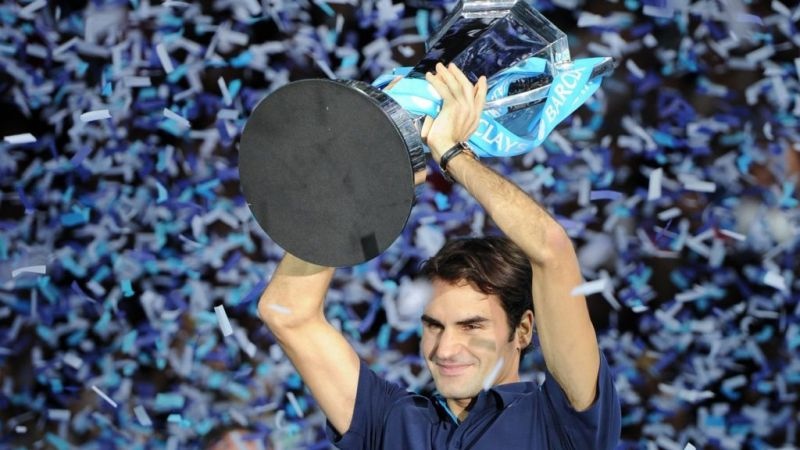 Federer lifts a record-6th ATP Finals title at 2011 London