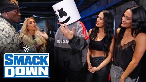 Remember when WWE had DJ Marshmello win the 24/7 Title?