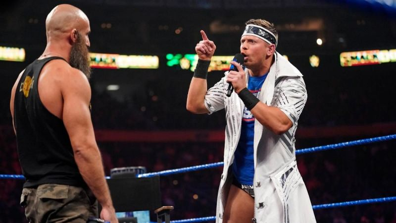 The Miz was ready for some action, but not for Tommy Entertainer