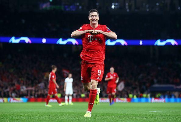 Lewandowski has scored goals for fun this season