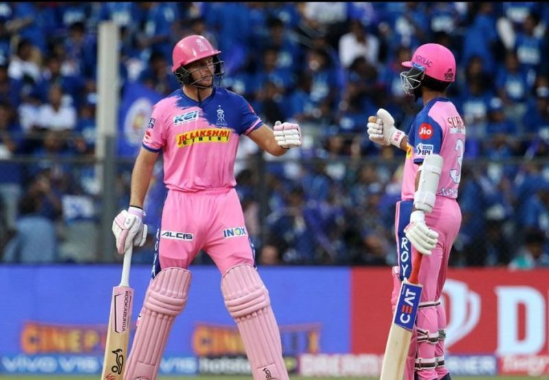 Jos Buttler and Ajinkya Rahane