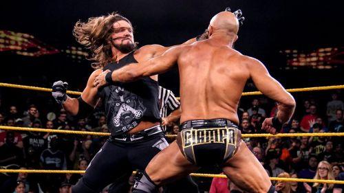 AJ Styles battles Tommaso Ciampa on WWE NXT