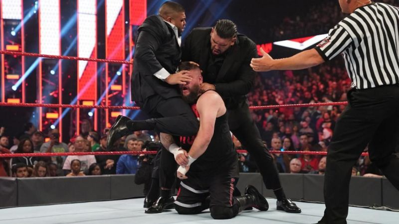 Kevin Owens had a bad Monday after a great night on Saturday