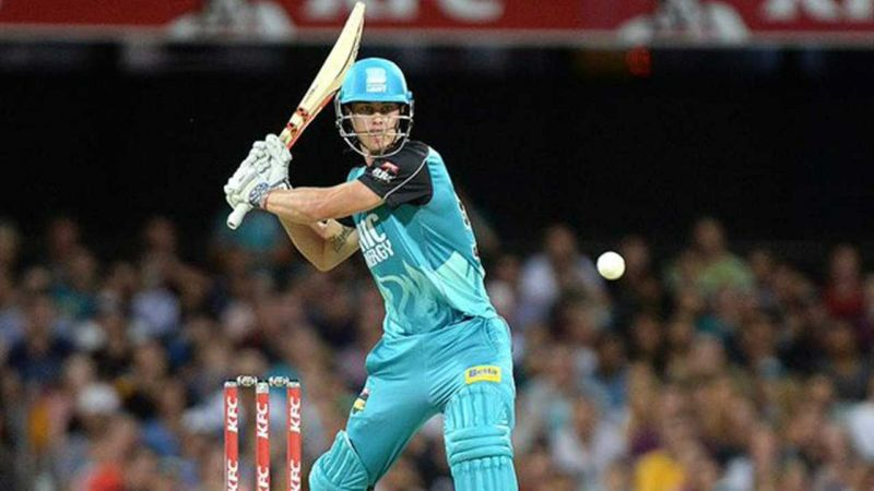 Chris Lynn playing in the Big Bash T20 League