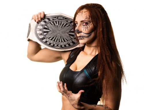 Aivil won the ICW Women's Championship at Fear & Loathing XII