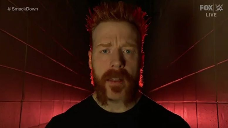 Sheamus is back with his old look and a warning for everyone