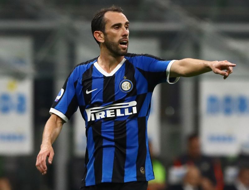 Diego Godin signed for Inter this summer